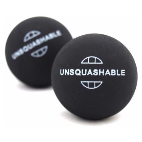 Squashové míčky UNSQUASHABLE - 2ks - žlutá tečka