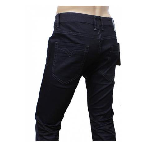 ABC kalhoty pánské LT8114 jeans mírný lesk