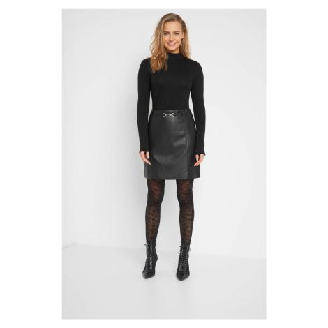 Mini sukně z ekokůže Orsay