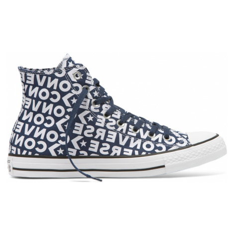 Converse Chuck Taylor All Star Wordmark 2.0 High Top modré 163952C