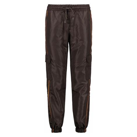 Trendyol Brown Striped Pocket Detail Jogger Sports Tracksuit Bottom