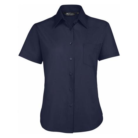 SOLS Dámská košile ESCAPE 16070228 Dark blue SOL'S