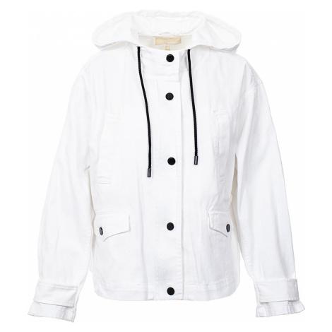 Michael Kors Dámská džínová bunda bílá
