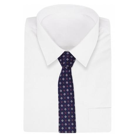 Buďchlap Květinová granátová kravata