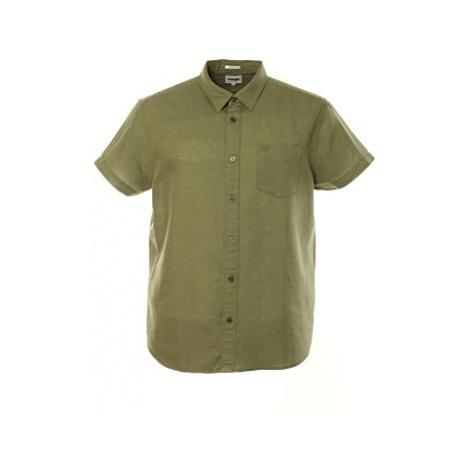 Košile Wrangler SS 1 PKT pánská olivová