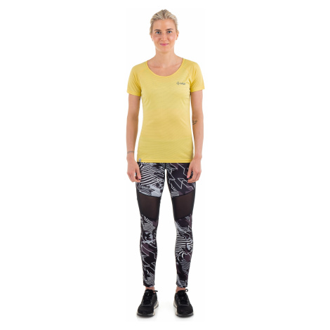 Dámské tričko KILPI DIMARO-W žlutá
