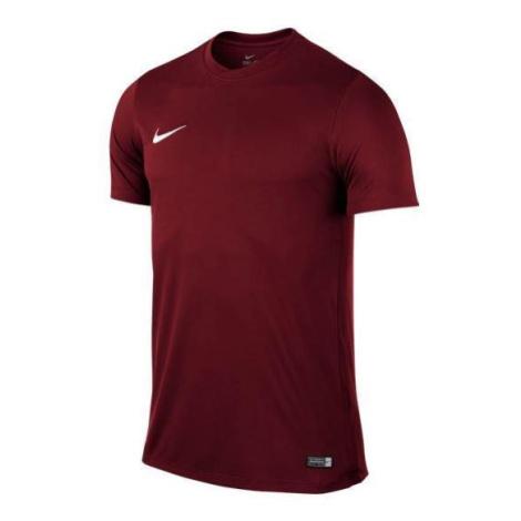 Dětský dres s krátkým rukávem Nike Park VI Vínová