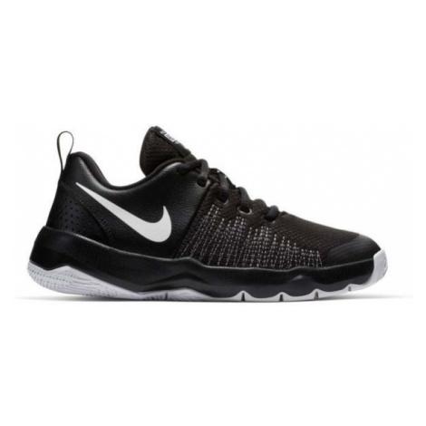Nike TEAM HUSTLE QUICK GS černá - Dětská basketbalová obuv