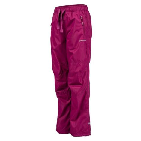 Lotto ADA růžová - Dětské zateplené kalhoty