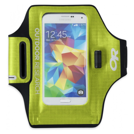 nepromokavé pouzdro OUTDOOR RESEARCH Sensor Dry Pocket Armband, Lemongrass