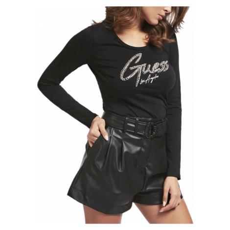 Černé tričko - GUESS