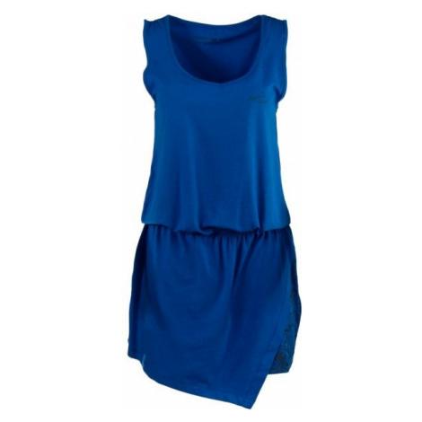 ALPINE PRO ROTEMA 3 modrá - Dámské šaty