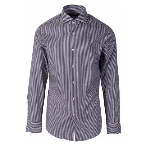 Hugo Boss pánská košile tmavě modrý proužek