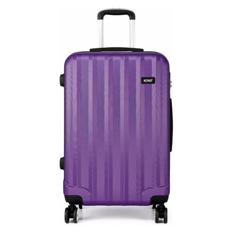 Fialový cestovní kvalitní prostorný set kufrů 3v1 Corbin Lulu Bags
