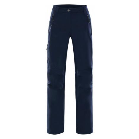 Dámské softshellové kalhoty Alpine Pro MURIA 2 INS - tmavě modrá