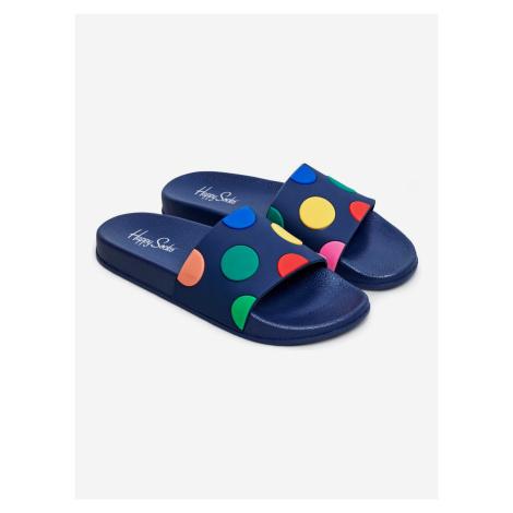 Pool Slider Do Pantofle Happy Socks Modrá