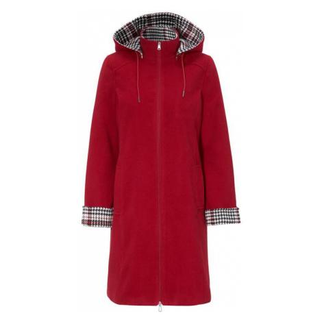Klasický kabát se zipem a odepínatelnou kapucí Cellbes