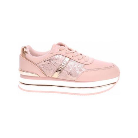 Guess Dámská obuv Dafnee Python blush Růžová