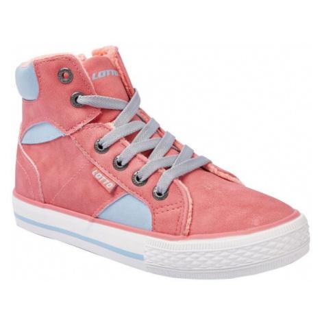Lotto PIQUET růžová - Dětská volnočasová obuv