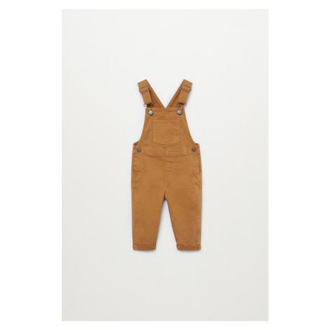 Mango Kids - Dětské kalhoty na šle LUCA