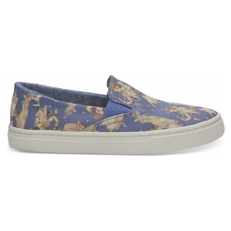 Disney X Toms Blue Snow White Youth Luca Sneakers
