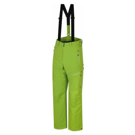 HANNAH AMMAR Pánské lyžařské kalhoty 10000008HHX01 Lime green