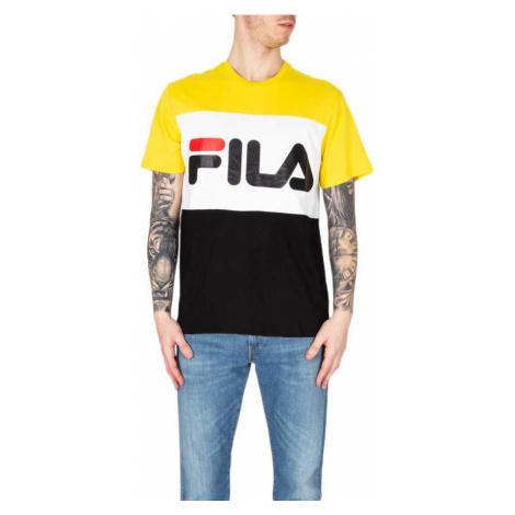 Žluto-bílé triko Day tee Fila