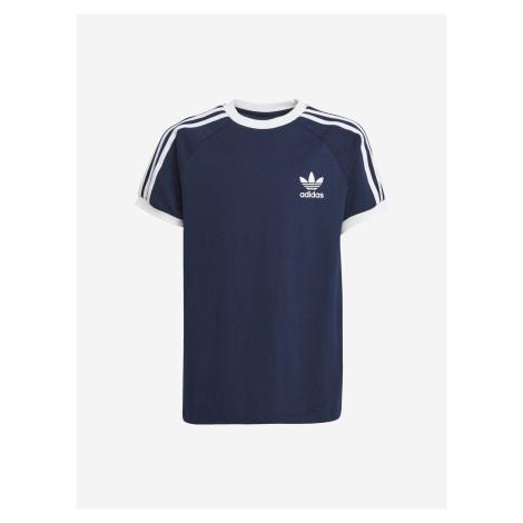 3-Stripes Triko dětské adidas Originals Modrá