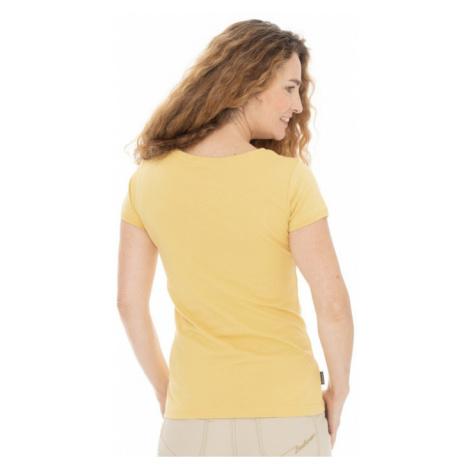 Dámské tričko BUSHMAN PASTAZA II žlutá