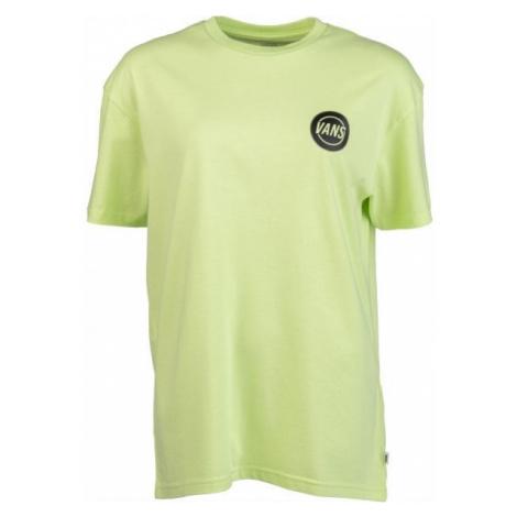 Vans WM TAPER OFF OS EMEA světle zelená - Unisex tričko