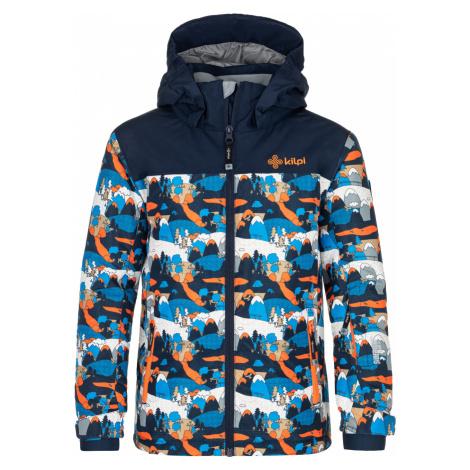 KILPI Chlapecká lyžařská bunda ATENI-JB NJ0003KIDBL Tmavě modrá