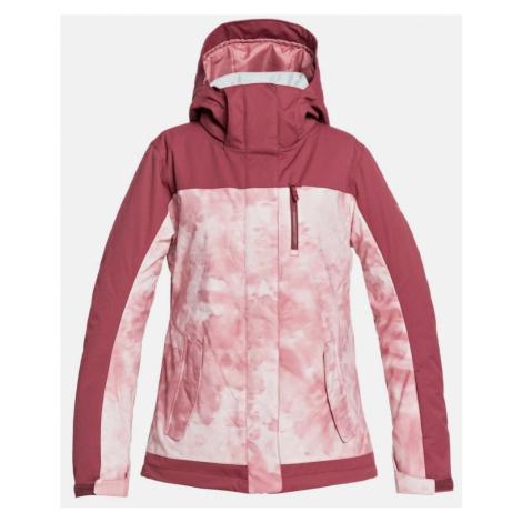 Bunda Roxy Jetty Block silver pink tie dye