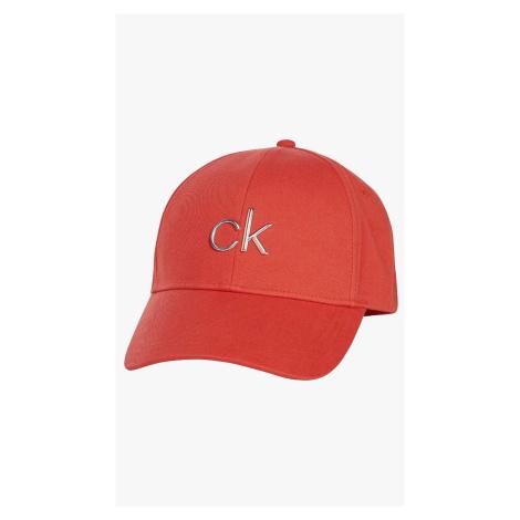 Calvin Klein dámská červená kšiltovka
