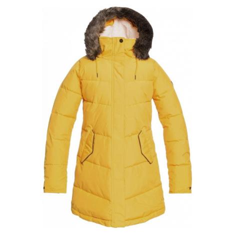 Kabát Roxy Ellie golden rod