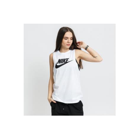 Nike W NSW Tank Muscle Futura New bílé