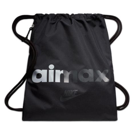 Vak Nike Heritage Gymsack Air Max Černá