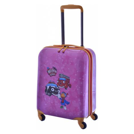 Plastový kufr Travelite Statečná autíčka 4W S