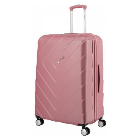 Travelite Skořepinový cestovní kufr Kalisto L Rose 106 l