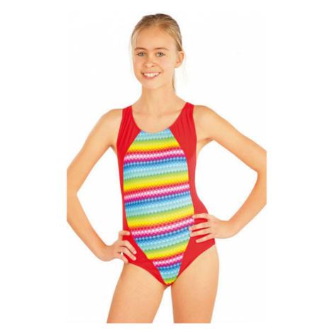 Dívčí jednodílné sportovní plavky Litex 52612 | originál