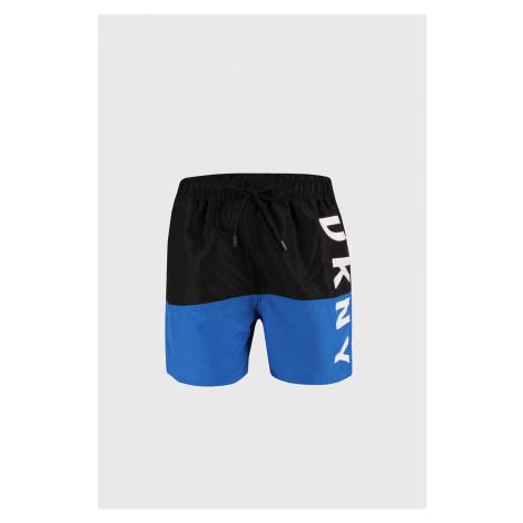 Černomodré koupací šortky DKNY Naxos černomodrá