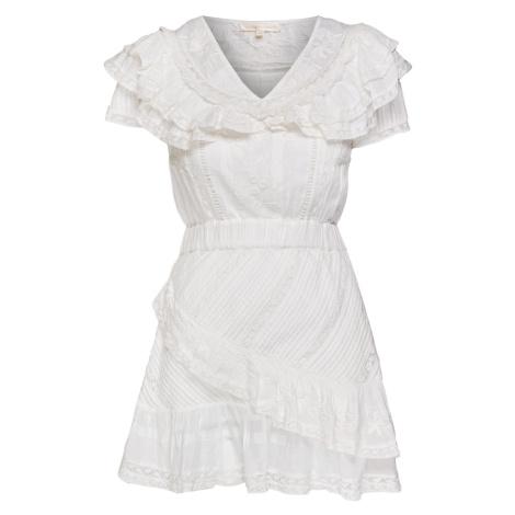 Šaty LoveShackFancy BONITA béžová|bílá