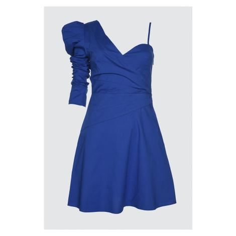 Trendyol Saks Cruise Collar Poplin Dress