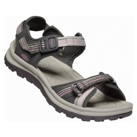 KEEN TERRADORA II OPEN TOE SANDAL W Dámské sandály 10012447KEN01 dark grey/dawn pink