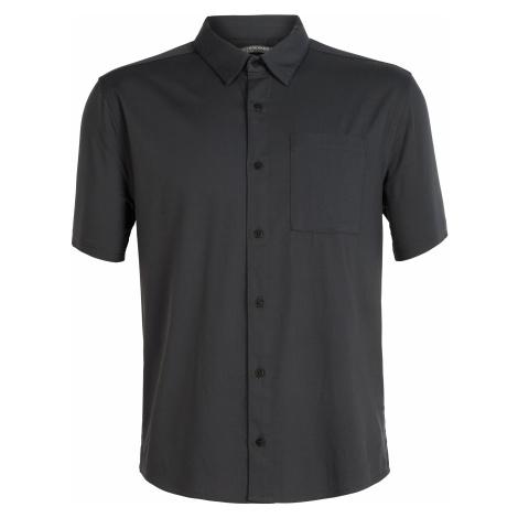 Pánská košile ICEBREAKER Mens Compass SS Shirt, Monsoon Icebreaker Merino