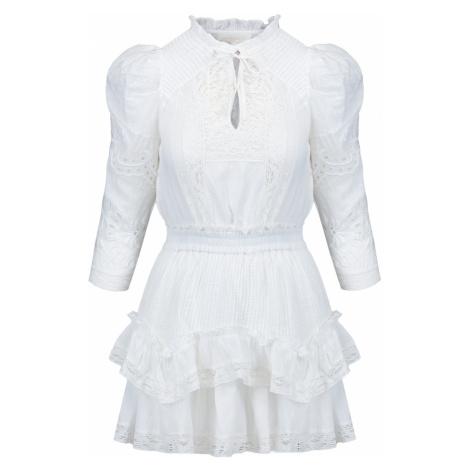 Šaty LoveShackFancy ISIDORE bílá