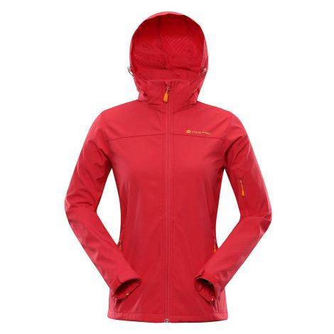 Dámská softshellová bunda Alpine Pro NOOTKA 7 - červená