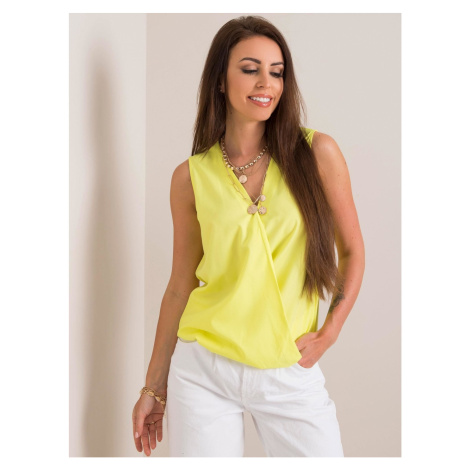 Fluo yellow women´s top Fashionhunters