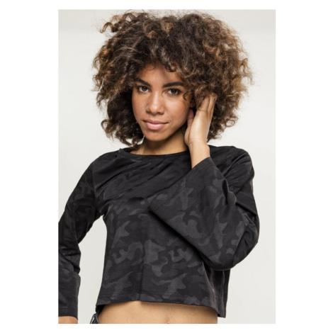 Ladies Short Jacquard Camo L/S Urban Classics