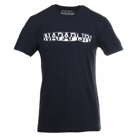 Napapijri pánské tričko tmavě modré