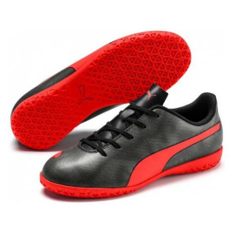 Puma RAPIDO IT JR zelená - Dětská sálová obuv